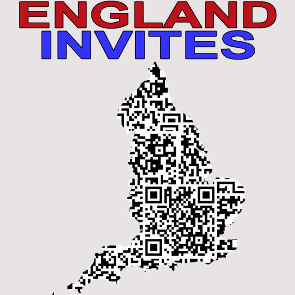 ENGLAND INVITES