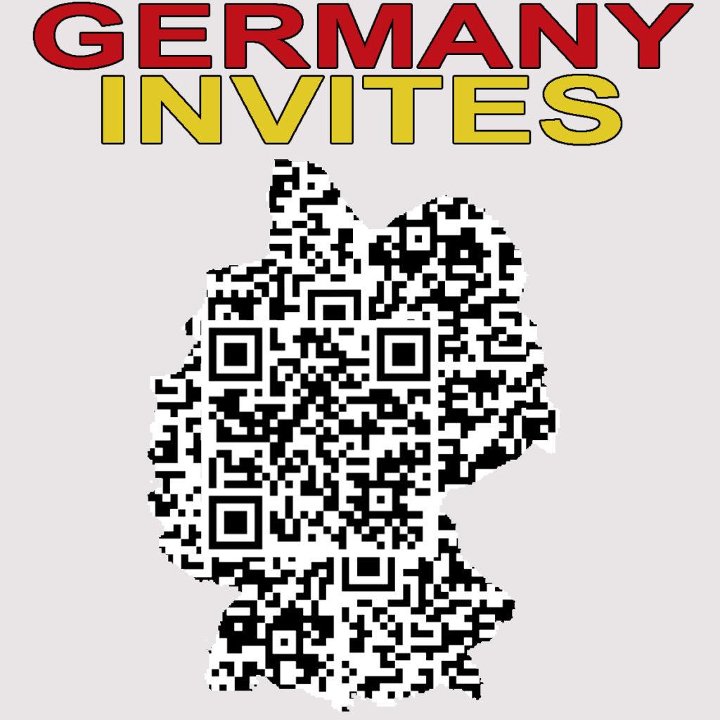 GERMANY INVITES qr