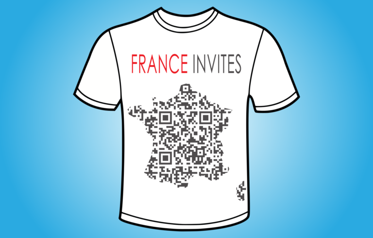 France Invites QR- koszulka