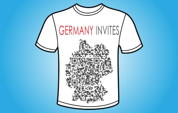 Germany Invites QR - koszulka