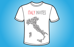 Italy Invites - koszulka