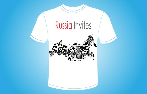Russia Invites-koszulka