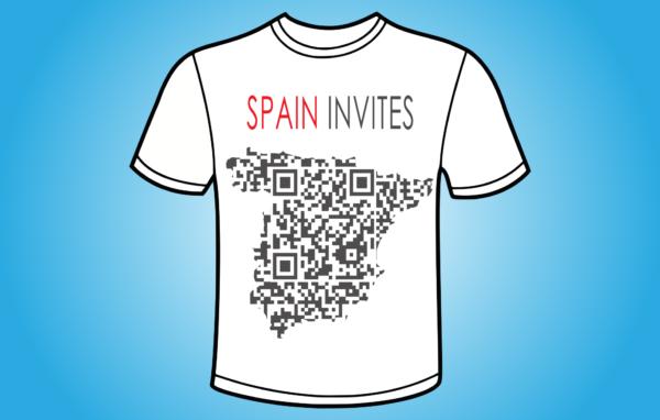 Spain Invites QR - koszulka