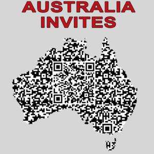 AUSTRALIA INVITES