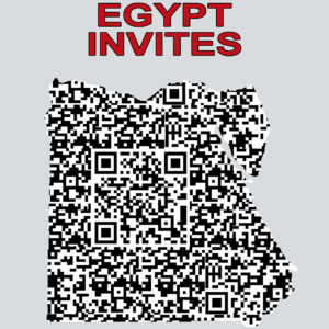 EGYPT INVITES QR
