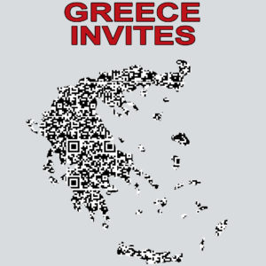 GREECE INVITES QR