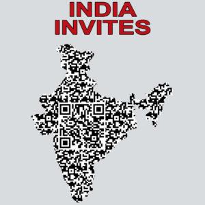 INDIA INVITES QR