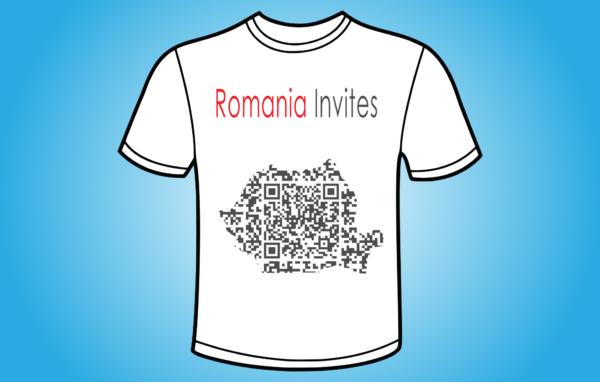Romania Invites - koszulka