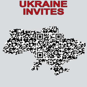 UKRAINE INVITES QR