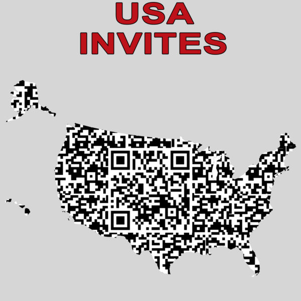 USA INVITES QR