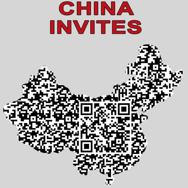 china invites qr kod