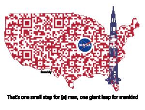 Digital Logo - USA - Apollo 11 3