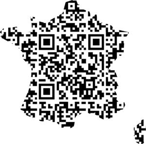 QR France Digital Logo France Invites . 3