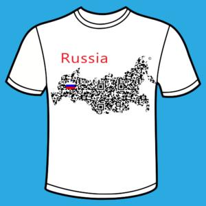 koszulka - russia QR 3